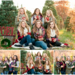 Winter Senior Model Session | Christmas Tree Farm – Hartsburg, Missouri