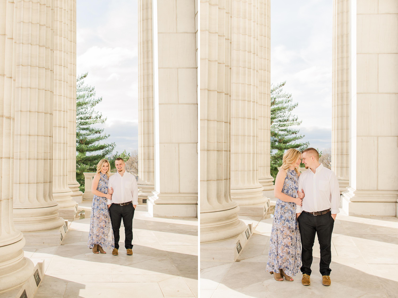 Kaity And Cameron Jefferson City Missouri Engagement