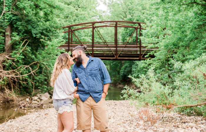 Amanda + Andrew | Columbia, Missouri Engagement Session