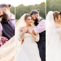 Mr. and Mrs. Johnson | Enchanted Backyard Wedding| Dixon, Missouri
