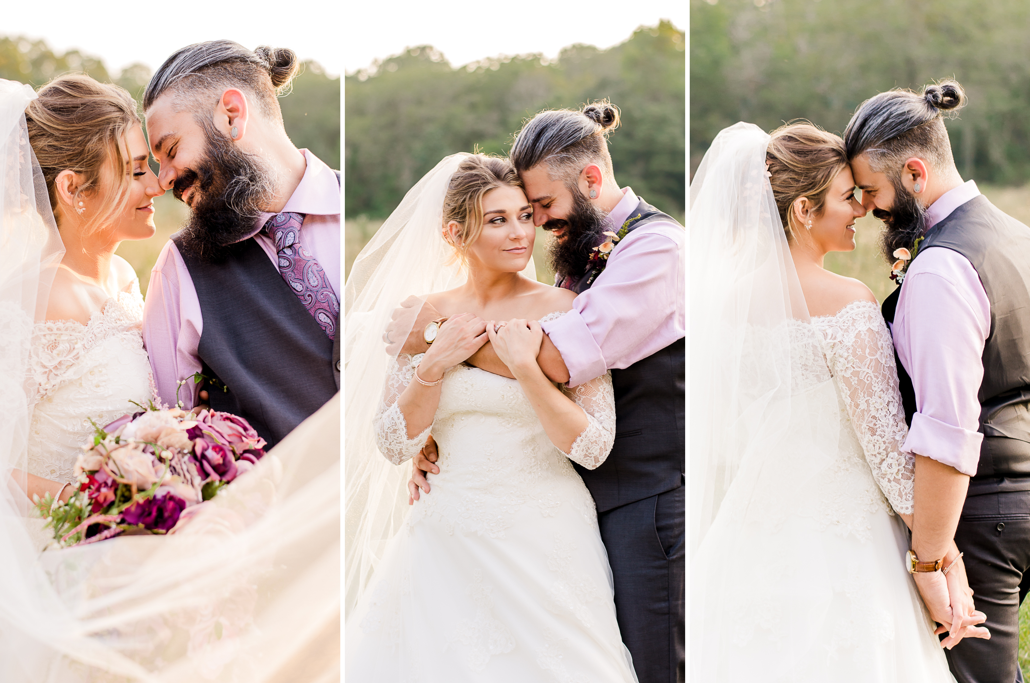 mr and mrs johnson enchanted backyard wedding dixon missouri