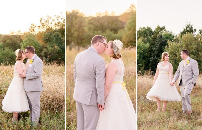 Mr. and Mrs. Yates | Backyard Columbia, Missouri Wedding