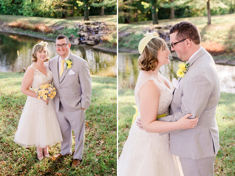 Mr And Mrs Yates Backyard Columbia Missouri Wedding
