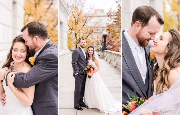 Mr. & Mrs. Sutherland | The Millbottom | Jefferson City, Missouri Wedding