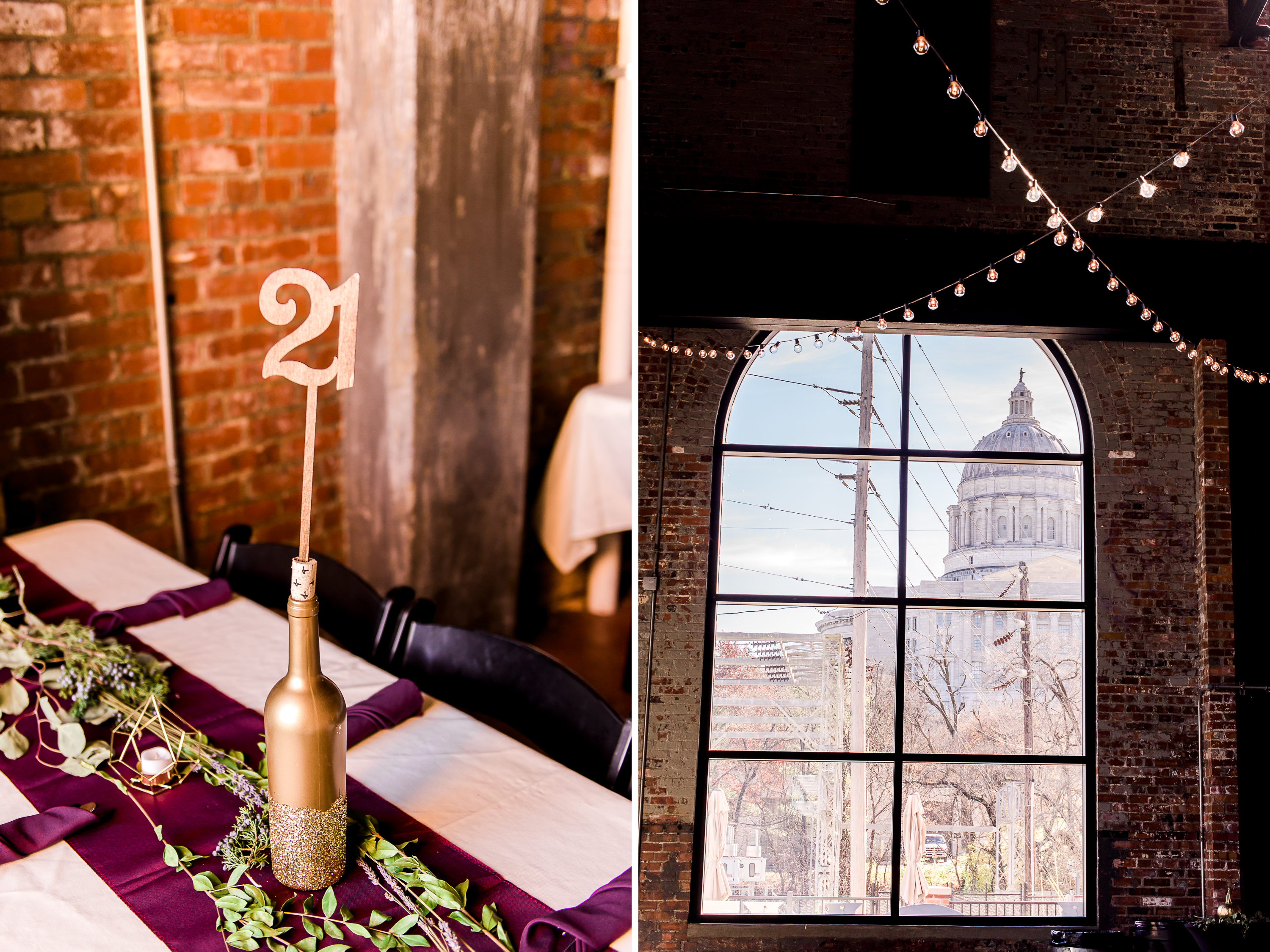 The-Millbottom-Jefferson-City-Missouri-Wedding-Details-Gold-and-Marsala-Wedding