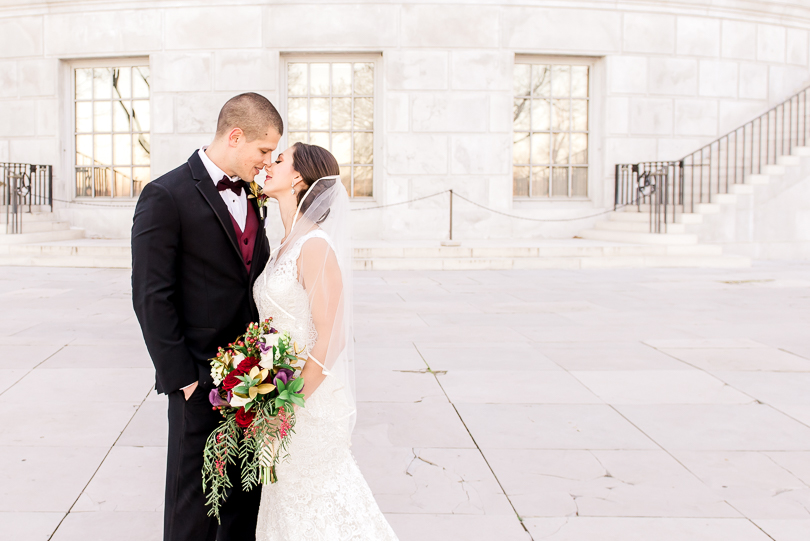 The-Millbottom-Jefferson-City-Missouri-Wedding-Details-Gold-and-Marsala-Wedding-Capitol-Bride-and-Groom-Portraits