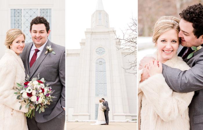 Mr. & Mrs. Wright | St. Louis, Missouri Winter Wedding