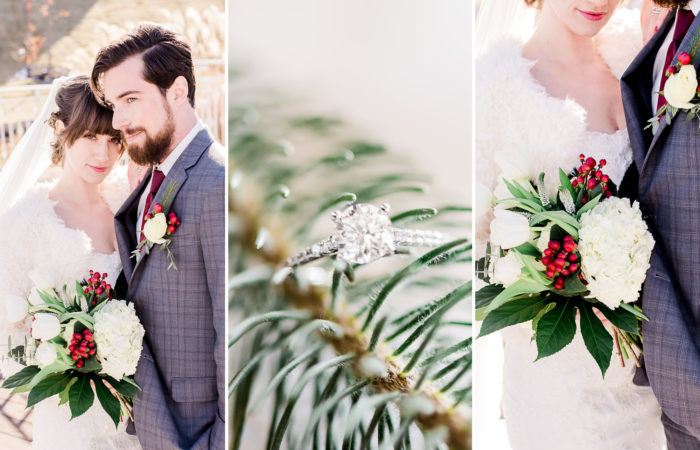 Romantic Winter Styled Shoot | Pavilion Event Space | Kansas City, Missouri