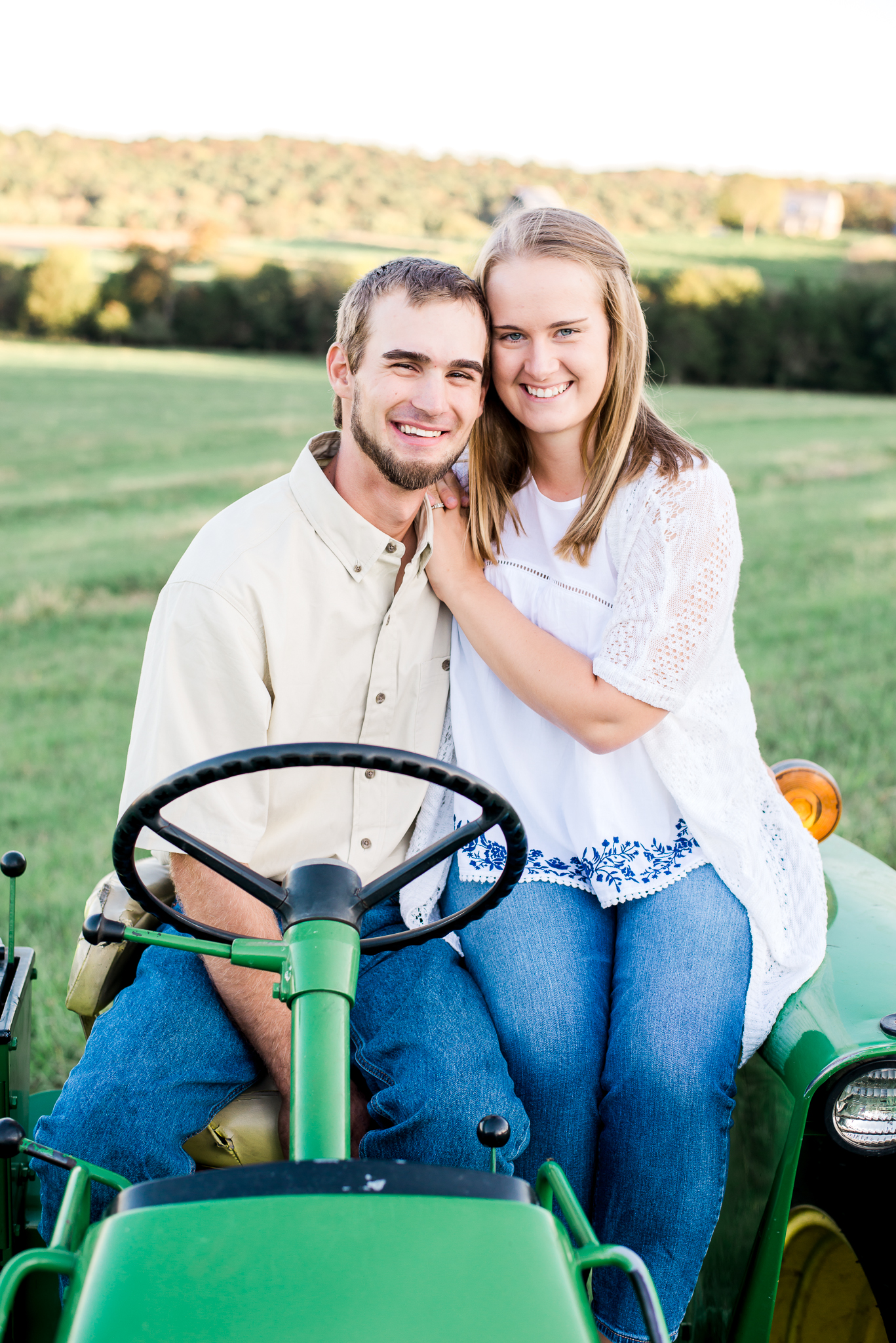 On the farm with morgan lee